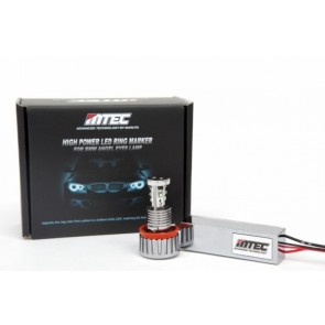 MTEC H8 V3 18W Cree LED BMW Angel Eye Bulbs E60 E63 E64 E82 E90 E92 E70 E71 E89 F01 F02