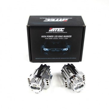 MTEC BMW E90 E91 V4 Angel Eye Cree LED Bulbs 2006-2008 Models