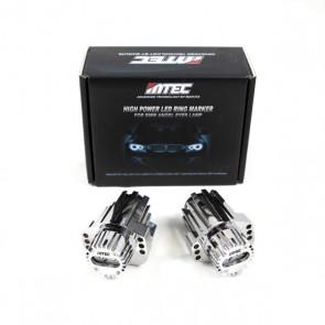 MTEC BMW E90 E91 V4 Angel Eye Cree LED Bulbs 2006-2008 Models